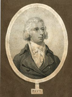 Engraving of Pitt, unknown date. I rather like this one!