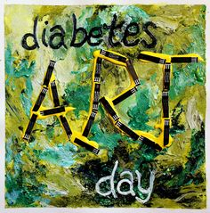 """Diabetes Art Day 2012 is September 24. Diabetes Art Day is a web-based initiative for the Diabetes Online Community to """"tell a story"""" about life with #diabetes though creative visual expression."""