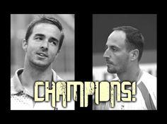 Doubles Champions! Me & Igor Zelenay