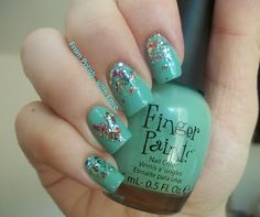 From Polish, with Love: Mint Mani for Talia Joy