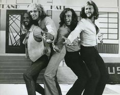 Peter Frampton and the Bee Gees