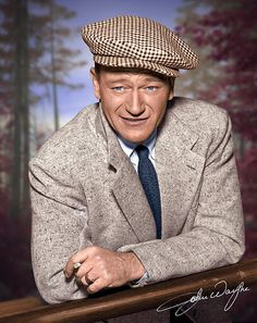 John Wayne in the quiet man one of my favorite movies