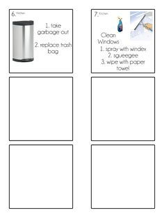 Chore Cards {Chore Flip Charts, - Home Cleaning Schedule For Working Moms Kids Checklist, Kids Schedule, Chore Cards, Routine Chart, Chore Chart Kids, Behaviour Chart, Summer Activities For Kids, Kid Activities, Chores For Kids