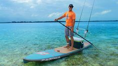 Outback - JP Australia - Running silent with this fishing model Sup Fishing, Fish Stand, Standup Paddle Board, Paddle Boarding, Canoe, Surfboard, Kayaking, Cruise, Surfing