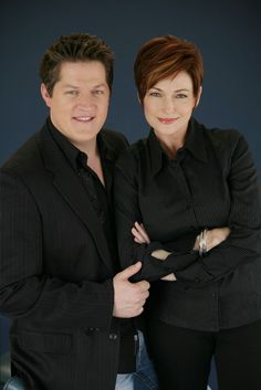 Max with Diane as played by Derk Cheetwood & Carolyn Hennesey! general hospital
