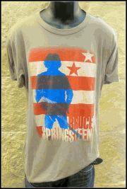 Men's Stars & Stripes Bruce Springsteen Tee