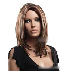 Sogood Fashion Hot Sale High-end Secondary Color Straight Medium Wigs For Ladies Front Lace Wigs Lace Wigs Hair Wigs Human Hair Wigs by Sogood. $36.99. Material : High temperature wire. Package:1 PCS. Length :about 18.9 inch / 48 cm. Color : As the picture ,Color Shown: (Color may vary by monitor.). Hair Style: Super natural wig. Brand: SoGood Recommended features: 1. Super natural wig , suitable for almost every lady aged from teenagers to adults. 2. With the high technology, ...