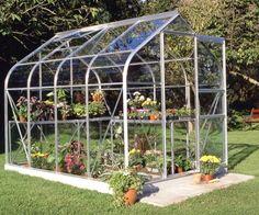Halls Supreme 8ft x 6ft Wide Greenhouse