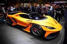 Another cool car presented at Geneva. The Apollo Arrow.