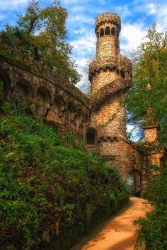 Tower Palace Quinta Da Regaleira - Located in the historic center of Sintra, Portugal  UNESCO heritage  by Taylor Moore Google+