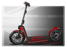 Urban Electric Scooters - The Mini CitySurfer is Inspired By Kick Scooters (GALLERY)