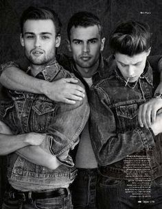 douglas booth & theo james together in one picture literally crying ????????