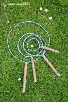 Kennt Ihr no ch unsere selbstgem achten Seifenblasen  mit den tollen großen  Ringen ? Für alle, die s ie vor einem J ahr nicht gesehen ...