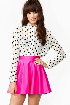 #dot #blouse