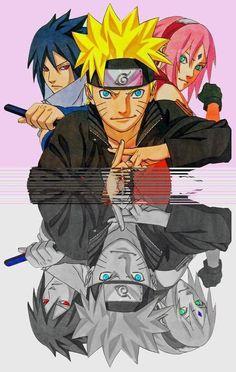Team 7 - Naruto, Sasuke & Sakura