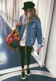 3a414e1b7f7 35 Best travel chic images in 2016 | Airport chic, Fall fashion ...