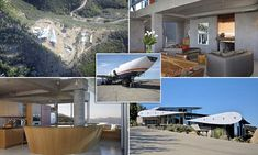 Scrapped Boeing 747 turned into Californian wonder house | Daily Mail Online