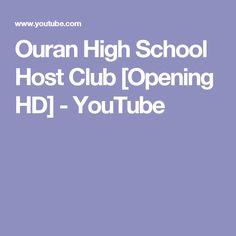 Ouran High School Host Club [Opening HD] - YouTube