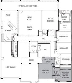 House Plans for Multi-Generational Families | Duplex Great for ...