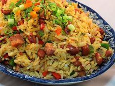 Arroz Mamposteao - Que Rica Vida Rice Recipes, Mexican Food Recipes, Cooking Recipes, Healthy Recipes, Ethnic Recipes, Couscous Recipes, Recipies, Puerto Rican Cuisine, Puerto Rican Recipes