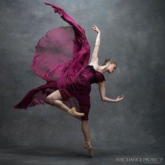 Cassandra Trenary, Soloist, American Ballet Theatre Dress by Leanne Marshall