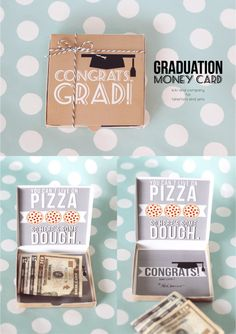 Give the gift of cash and show your support with a fun handmade graduation gift. Easy DIY craft tutorial ideas.