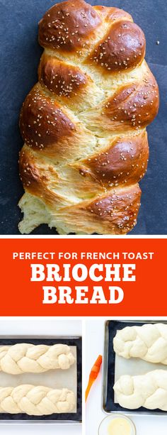 An easy recipe for homemade brioche bread, this bread is buttery, fluffy and delicious perfect for any day. You can use this bread for French toast, a peanut butter jelly sandwich, or enjoy it as is. Brioche bread is a classic French yeast bread, perfect for all year around. #homemadebread #briochebread