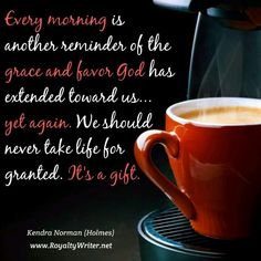 Grace and favor, Kendra Norman quotes