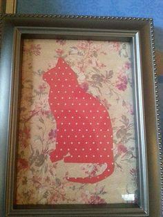 Wall Art / Cat Nursery Art / Kids Wall Art / by MyMetalHeart, $10.50