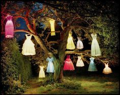 Light up dresses - perfect for a Girlie Girl 21st /30th / 40th birthday party!