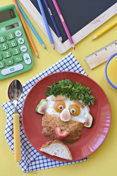 Now your kid's breakfast dreams can come true. Put a smile on your their face tomorrow morning with the delight of this Funny Breakfast Man on a plate!