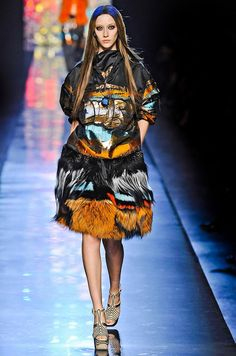 STYLING Fashion Art :: Graffiti - Jean Paul Gaultier