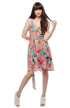 BB Dakota floral dress from Brother's, in the IND Fashion blog