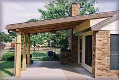 wood patio roofs - Google Search