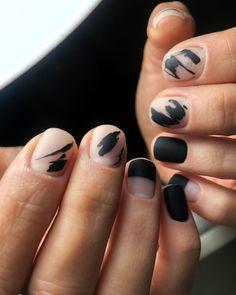 Different Nail Designs, Cute Nail Designs, Nail Swag, Men Nail Polish, Hippie Nails, Mens Nails, Minimalist Nails, Soft Grunge, Nail Trends