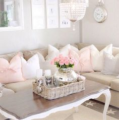 Top 20 Dreamy Shabby Chic Living Room Designs-homesthetics (2)