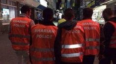 """""""Sharia Police"""" Seen Patrolling the Streets in Germany.  Are you paying ATTENTION folks? Won't be long before it begins happening in other places, too."""