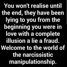 Lies and deception are a coward's tool in re-writing reality, but the Narcissist also does this with an agenda in mind and that is to secure a steady base of SUPPLY! Narcissistic People, Narcissistic Behavior, Narcissistic Abuse Recovery, Narcissistic Personality Disorder, Narcissistic Sociopath, Narcissistic Sister, Narcissistic Supply, Psychopath Sociopath, Abusive Relationship
