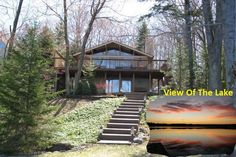 Commanding Views on this LAKEFRONT Gem! Price Now Reduc