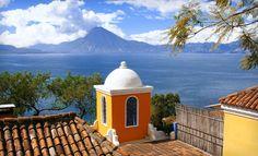 Casa Palopo on the banks of Lake Atitlan in Guatemala