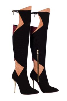 Cesare Paciotti - Not for the faint hearted - http://www.vogue.co.uk/accessories/news/2013/11/best-boots/gallery/1079968