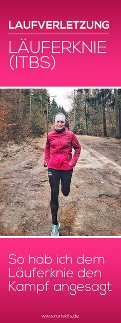 ITBS heißt ausgesprochen Iliotibialband-Syndrom und ist besser bekannt als Läuferknie. Das Läuferknie ist eine der häufigsten Verletzungen bei Läufern. In diesem Blogbeitrag erfährst du alles zum Thema Läuferknie: 1. Was ist ein Läuferknie? 2. Symptome  3. Ursachen für ITBS 4. Vorbeugung inkl. Video mit Übungen 5. Behandlung  www.runskills.de/laeuferknie/ #joggen