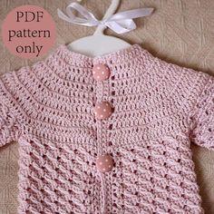 Instant download Crochet PATTERN pdf file por monpetitviolon