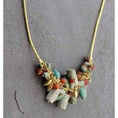 GURHAN Phoenician Tassel Necklace - EARTHWORKS Los Altos