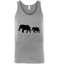 Men's Tank Top Elephant Graphic Tank top