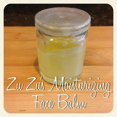 Zu Zu's Moisturizing Balm 1.5 teaspoons beeswax 2 teaspoons hazelnut oil 1.5 teaspoons Argan oil 0.5 teaspoons pomegranate seed oil 3 d...