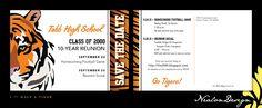 Nealon Design: high school reunion save the date