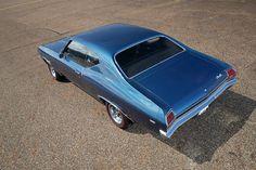 Amazing, Unrestored, and Super-Rare: 29,000-Mile 1969 Chevrolet COPO Chevelle
