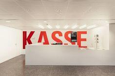 Museum of Applied Arts Berlin wayfinding by Double Standards