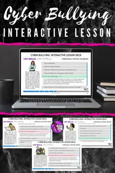 Are you looking to help your students develop coping skills for cyber bullying with a self-directed, interactive lesson that provides immediate feedback? This activity can be set as classwork, homework or remotely such as via distance learning. You can share the link and password with your students via a projector or on Google Classroom, for example. It's so easy and there are absolutely no resources required – you don't even need to grade it as it is self-assessing! #cyberbullying Teaching Character, Character Education, Character Development, Life Skills Lessons, Health Lessons, Cyber Bullying, Guidance Lessons, Help Teaching, Coping Skills
